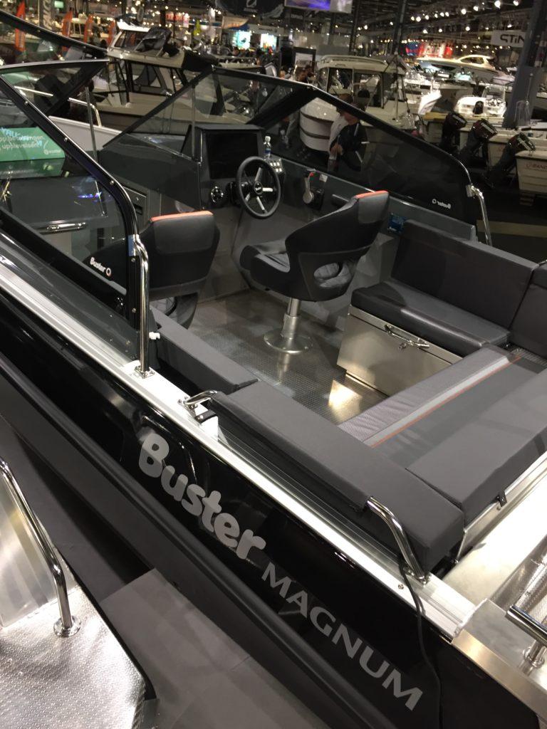 Buster Magnum båtmässan 2018