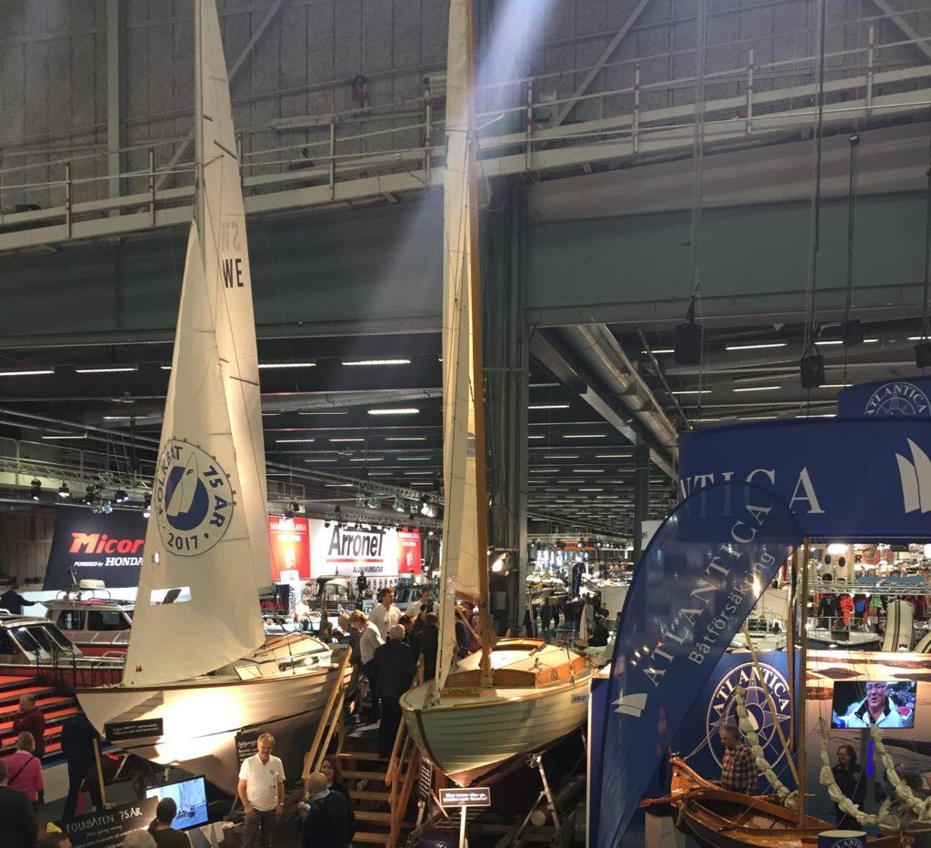 Folkbåtarna på båtmässan 2017