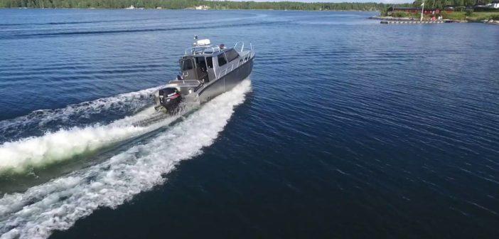 Alukin CW 850 aluminiumbåt