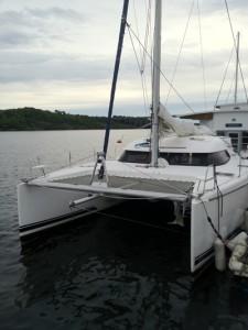 segelbåt katamaran