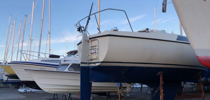 Vinterförvaring av båtar