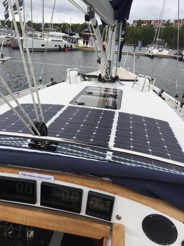Linjett 43 segelbåt - båtmässan 2017