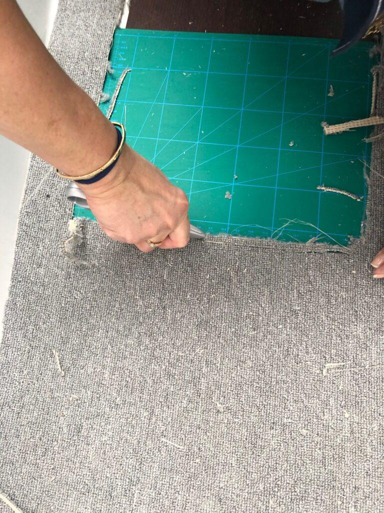 Lägga golv på båt