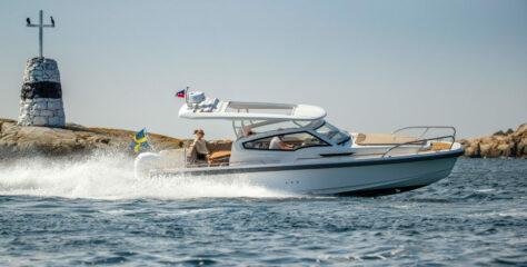 Nimbus Weekender 9 Outboarder – familjebåten som drar uppmärksamhet till sig