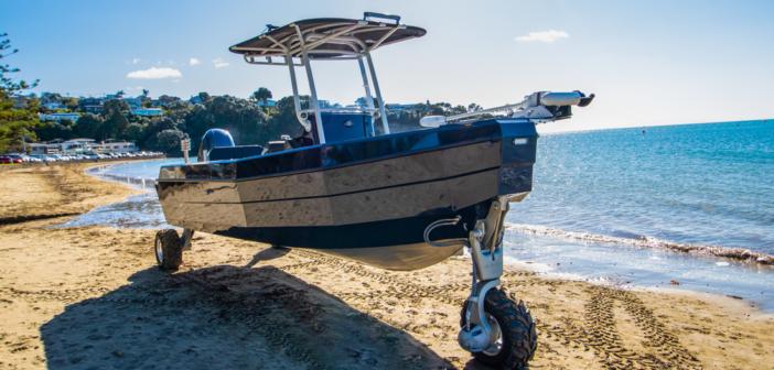 Sealegs 7.1 Sport RIB – en amfibiebåt med hjul