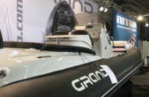 Grand RIB var en av de största ribbåtarna foto från båtmässan 2019