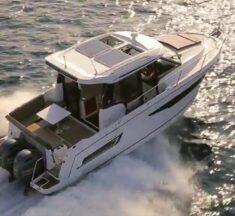 Merry Fisher 895 Cabin nominerad till bästa kabinbåt 2020