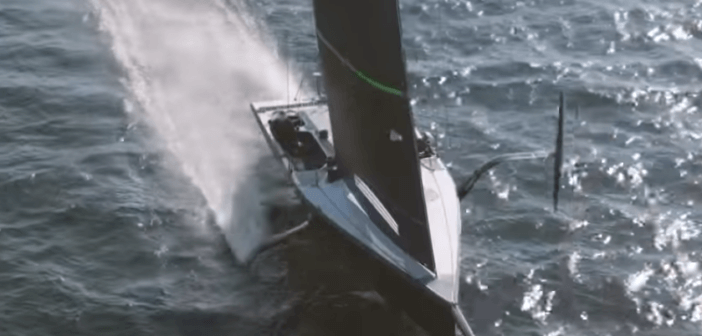 Mule – AM38 test båt – utmanaren i Americas Cup