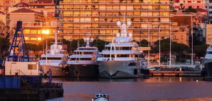 Port Hercule i Monaco
