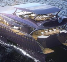 Solar Impact Yacht – en glamorös katamaran som maximerar solenergin