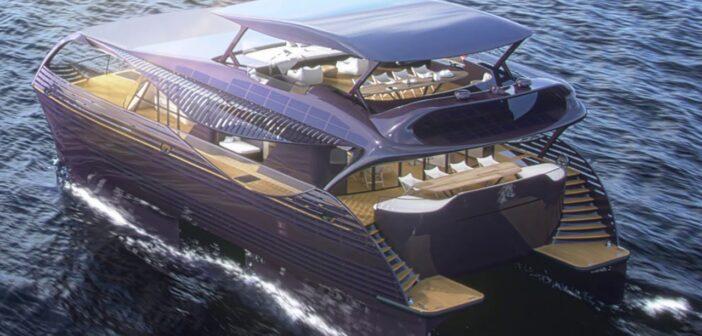Solar Impact Yacht - båt som drivs med solenergi