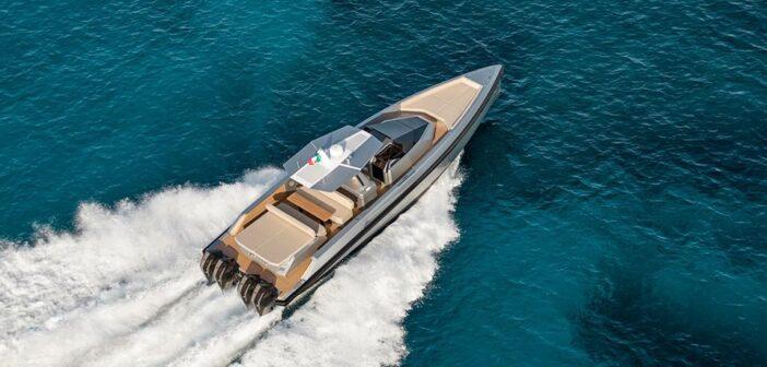 Wallytender 48 – design, prestanda och nedfällbar badplattform